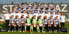 The team of SK Sturm Graz
