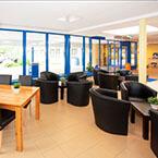 Die Lobby von A&O Amsterdam