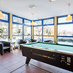 Billardtisch in A&O Dresden