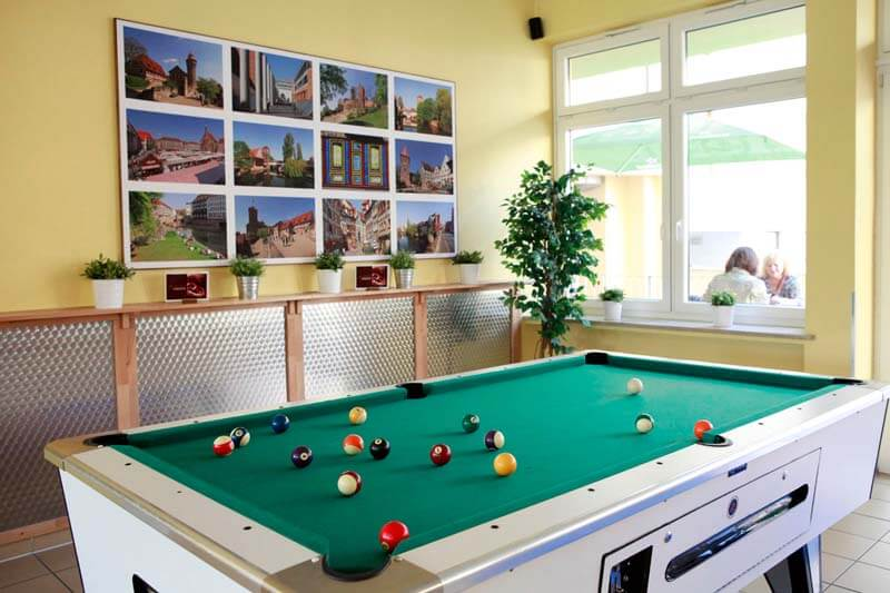 lay billiards with your friends at every A&O hostels