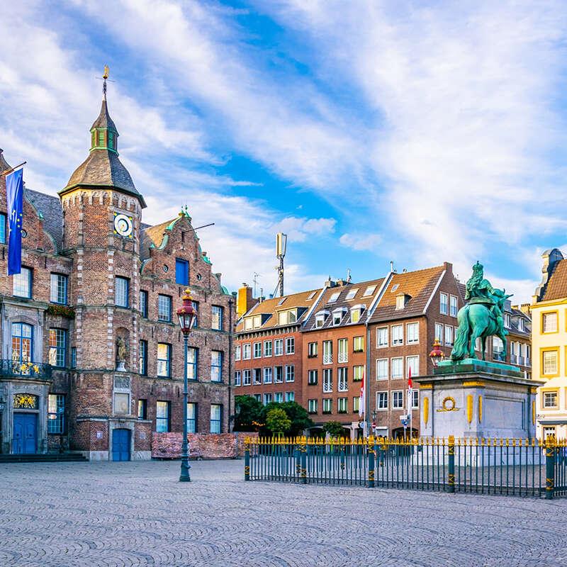 Flexible & baratos salas de conferencias en Düsseldorf