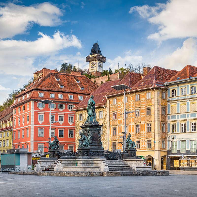 Flexible & baratos salas de conferencias en Graz