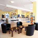 Die Rezeption und Lobby von A&O München