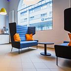 Die neue Lobby von A&O SAlzburg
