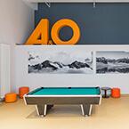 Billardtisch von A&O Salzburg