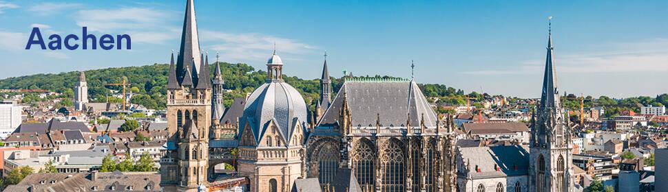 Stadtbild Aachen