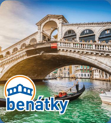 Tradiční jízda s gondolou v Benátkách