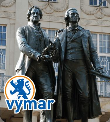 Goethe a Schiller pomník
