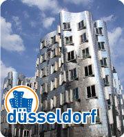 Ein Blick auf den Colorium in Düsseldorf