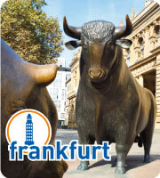 Bull and Bear in Frankfurt