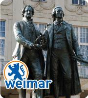 Goethe–Schiller Monument in Weimar