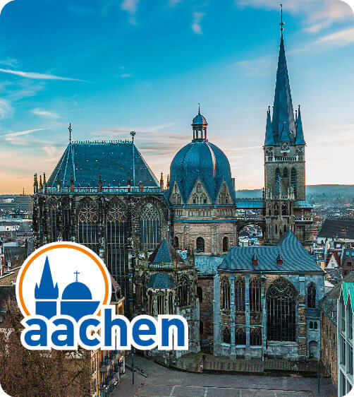 A view on the Aachen Cathedral