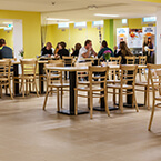 Frühstücksraum von A&O Stuttgart