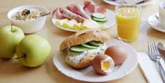 Frühstück im A&O