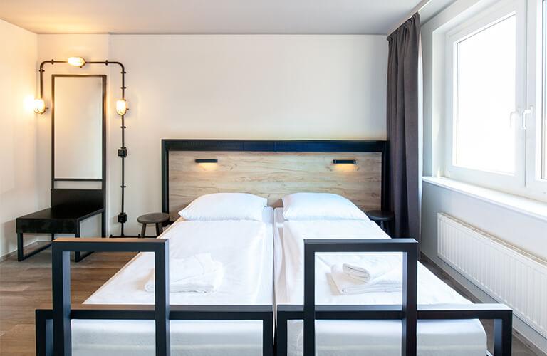 Das Erfolgskonzept Hotel und Hostel in Einem