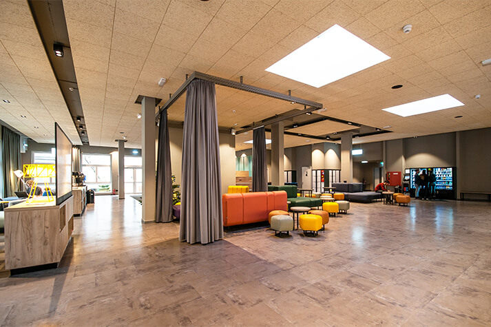 a&o Berlin Mitte Lobby
