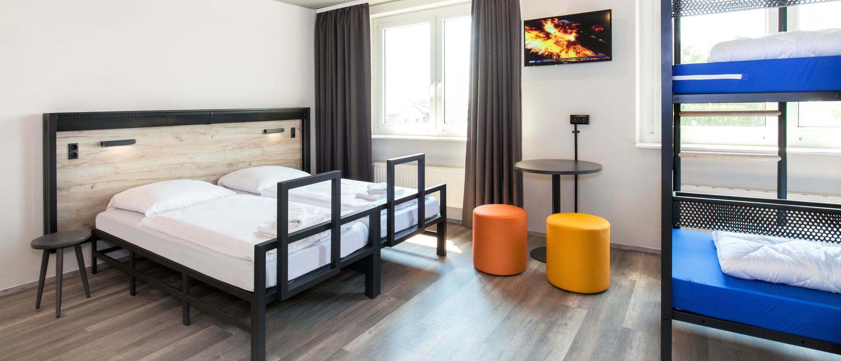 Familienzimmer im Hostel Prag Rhea