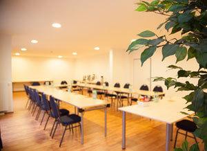 Kostenlose Nutzung der Tagungsräume für Sie und Ihre Klasse