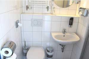 Typisches AO Badezimmer