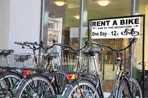 Fahrradverleih direkt bei AO